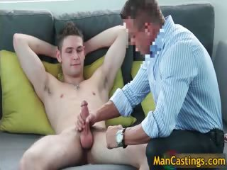 Pretty face dude Duncan blows fat gay part6