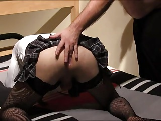 Young crossdressers fucks