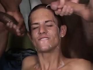 boys, bukkake, emo tube, facial, group sex