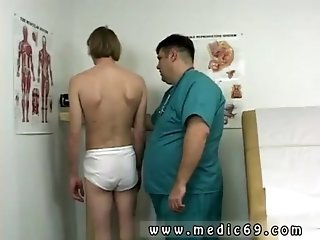 Old man fucks young twink Cory was a bit nervous since this was his