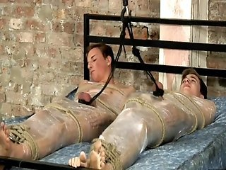 Folied twinks milked Casper Ellis and ZacLangton