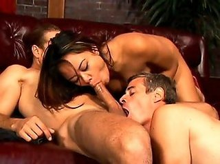 3some, anal games, asian, bareback, boyfriends, couple