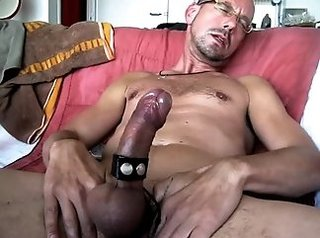 bdsm, homosexual, huge dick, masturbation