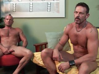 str  firefighter with     cock and rough around the edges fucks a hot muscular gay porn star.