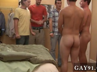 Gay rubbing chest This week's submission takes place during hell week: