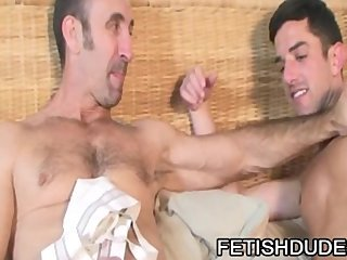 Steven Richards And Skyler Grey - Dirty DILFS JockStrap Fetish Play