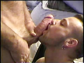 Mamando una polla gorda   Blowjob