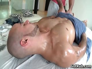 Nasty bald dude getting ass destroyed part3