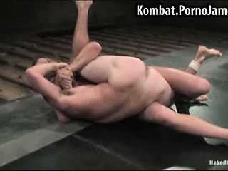 Guys wrestle to see who gets fucked