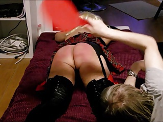 crossdressing, homosexual, spanking