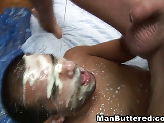 Manbuttered With Cum Juice