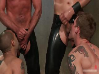 Leo and Trent in very extreme gay porn part
