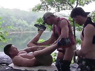 Outdoor Raw Orgy