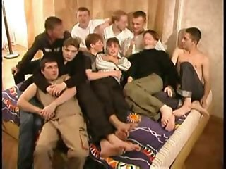 (GAY) Russian orgy
