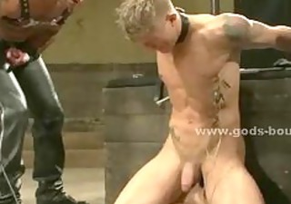muscular powerful homo men punished in pervert brutal slavery sex ge