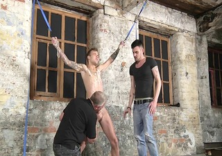 bdsm villein boy fastened up punished whipped schwule jungs