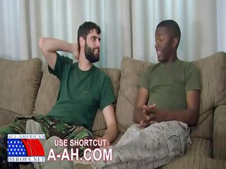 Military fellas Blowjobs - Free Gay Porn for all practical purposes Allamericanheroes - movie scene 110843