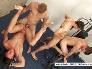 WilliamHiggins - cock stroke Party 5 - teaser 1