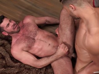 RagingStallion having much hair Billy Santoro fucked into the backdoor pleasant Up His Assho