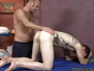 ago hard cock massage