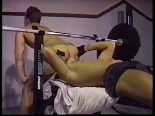 Gym Rat Fucks His Spotter