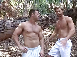 Two gym hot men's