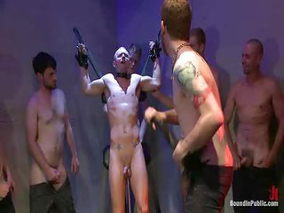 Dayton Rto bootall to boot Rex Wolfe - Free Gay Porn well-nigh Boundinpublic - Video 112044