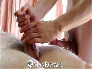 Manroyale Massaged as well as booty fucked - Free Gay Porn relatively Manroyale - video 127510
