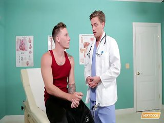 Doctors Cure - Free Gay Porn close upon Nextdoorbuddies - movie scene 129824