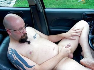 Masterbating along with cumming In my car usable