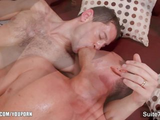 both sexes loving married guy sip conjointly ride a big prick