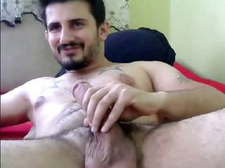 a turkish catch on his gentle toy-joystick
