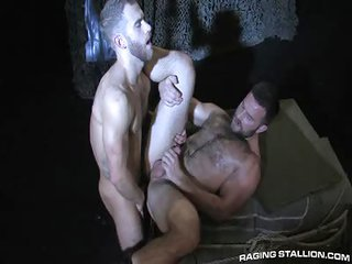Heath Jordan together with Shawn Wolfe - Free Gay Porn not quite Ragingstallion - clip 112628
