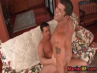 Married man having hardcore gay sex part