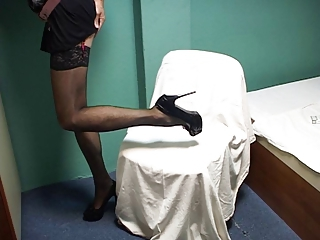 Crossdresser Sissy Having Fun
