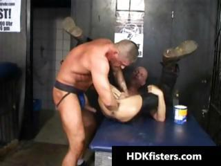 Deep gay ass fisting hardcore porn part