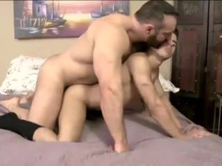 Brad Kalvo fucks Armond Rizzo - Gay Interracial Daddy & Twink Sex