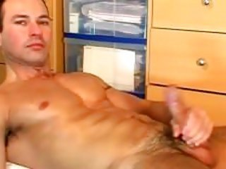 My totally straight nearby resident made a porn made at home peek his huge cock gets wanked by a guy!
