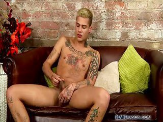 Inked buddy Mickey Unloads - Free Gay Porn about to Blakemason - video 124803