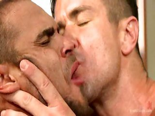 Trenton Ducati as well Brock Avery - Free Gay Porn not far from Boundgods - movie scene 125121