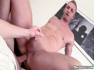 powerful gent Dildo Foreplay - Part 2 - Free Gay Porn for all practical purposes Bigdaddy - vid 122721