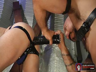 orifice Busters 10 - deed 4 - Free Gay Porn on the edge of Clubinfernodungeon - video 120930