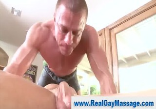 str lad face hole screwed by hunky gay masseuse