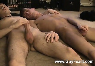 homosexual sex jared is nervous about his st time wanking on