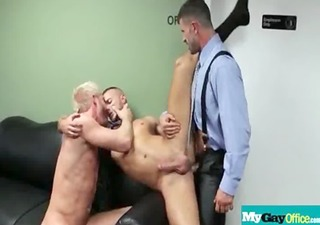 muscled homo dudes fucke hawt boyz in the office 311