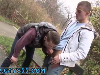 Cute teen gay outdoor sex video 3gp Two Sexy Amateur Studs Fucking In
