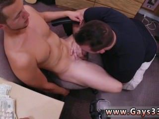 Cumshot penis movie gay Guy finishes up with anal orgy threesome