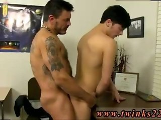 Gay long hairy first time Young Ryker Madison has desired his