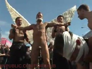Folsom Whore In Angel Wings