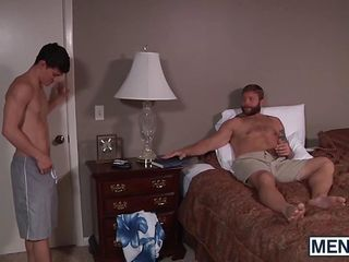Tyler Sweets sweet ass gets explored deep by a hunky Colby